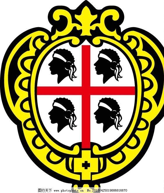 标志      国外 ai矢量图 logo设计 人头 公共标识标志 标识标志图标