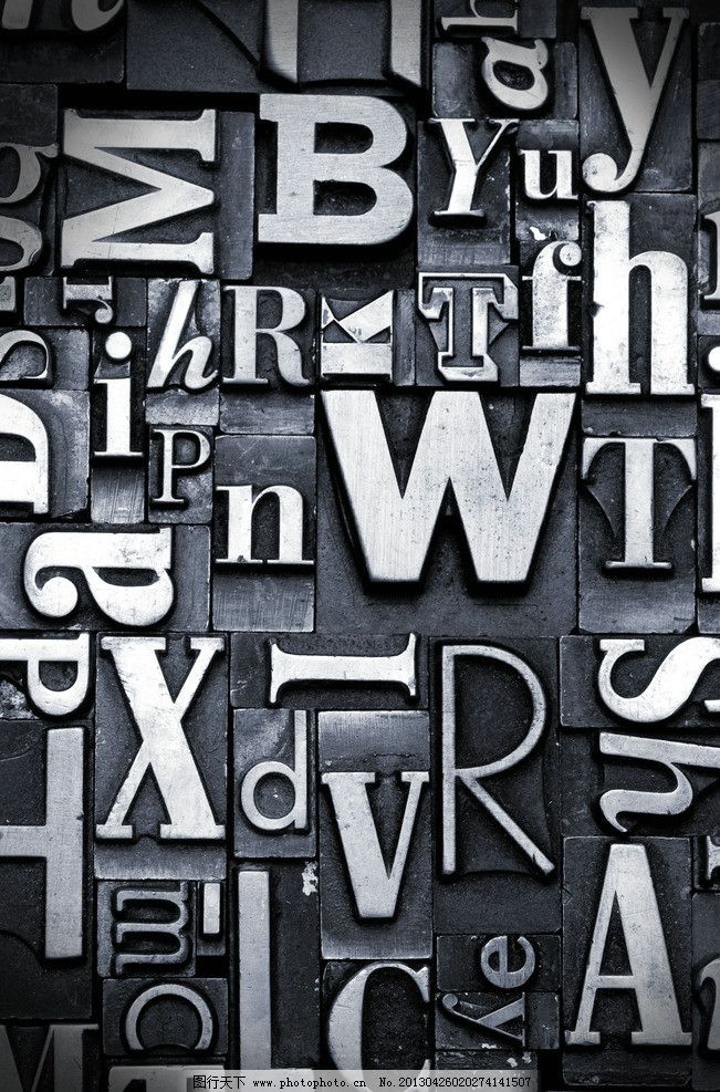 英文墙 艺术字母 英文排版 背景画 艺术英文 背景底纹 底纹边框 设计