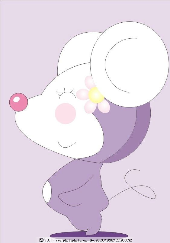 卡通小老鼠 卡通 老鼠