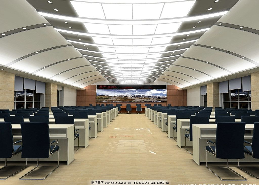 会议室 工装 大型 部队 现代图片