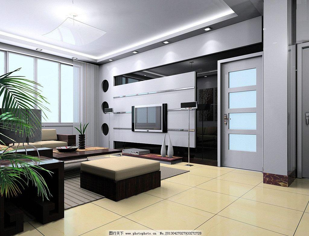 客厅效果图 室内装潢 室内装修 室内效果图 电视背景墙 酒店效果图