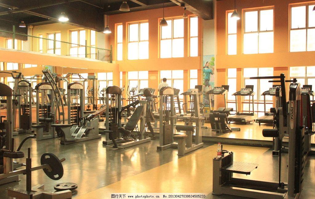 健身房 健身房图片素材下载