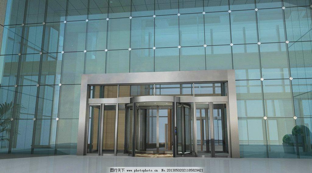建筑门区出入口设计图片