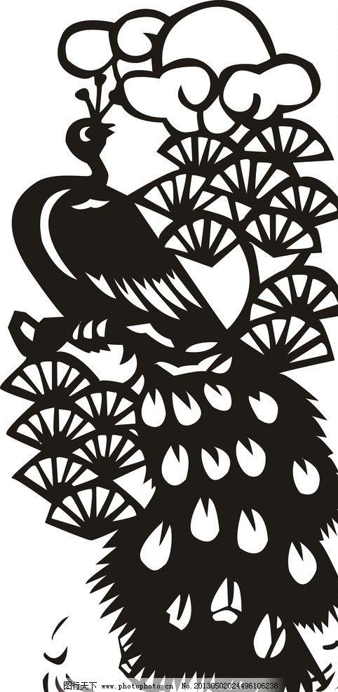 孔雀 动物 美丽 漂亮 矢量图 野生动物 生物世界 矢量 cdr图片
