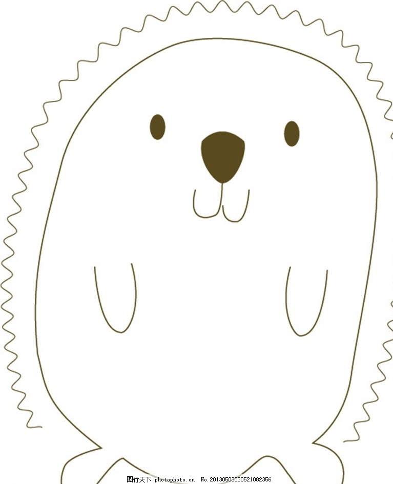 海豹 海狮 海洋生物 插画 背景画 动漫 卡通 时尚背景 背景元素 图画