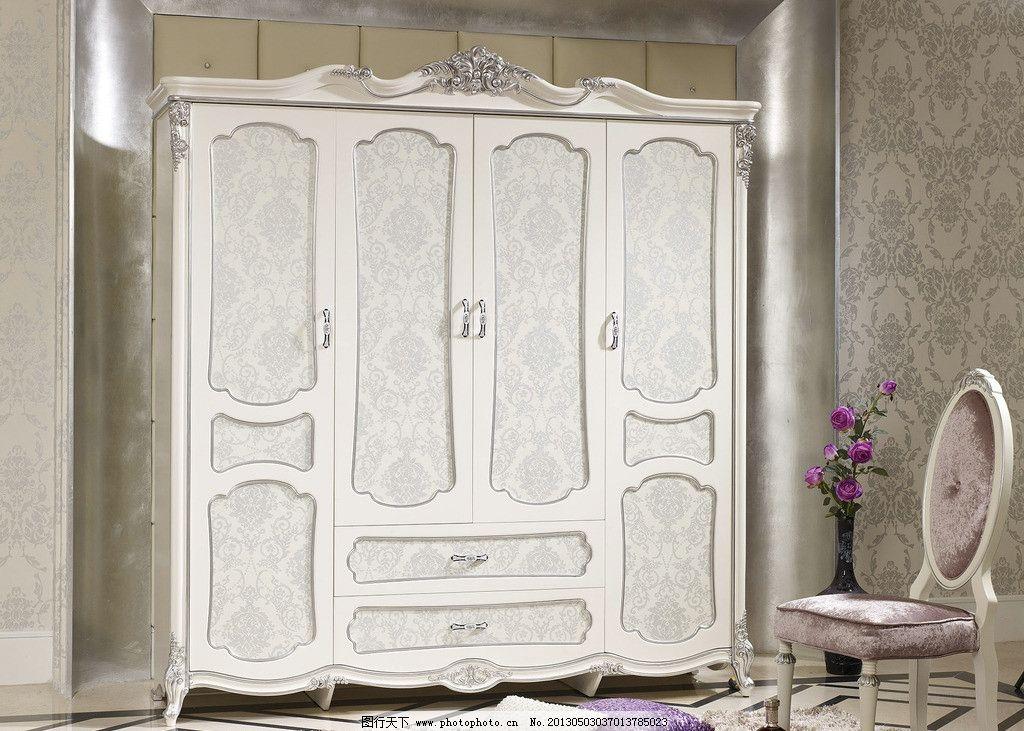 欧式衣柜图片