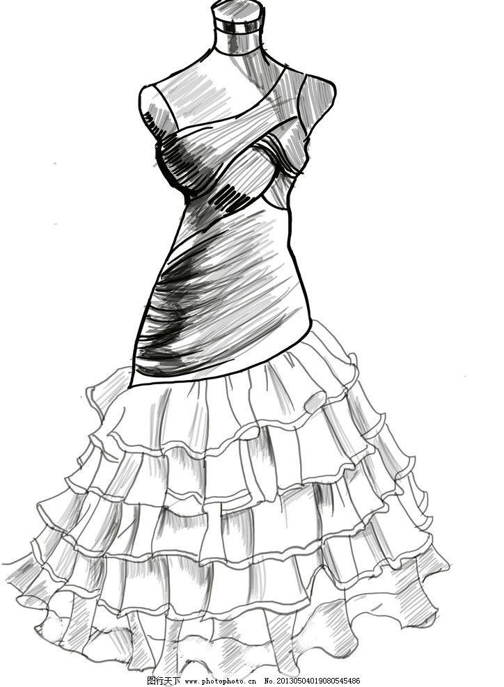 春季女装上衣图片手绘
