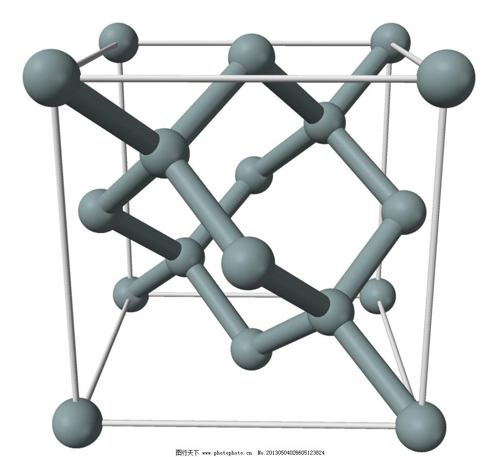 硅原子结构图片