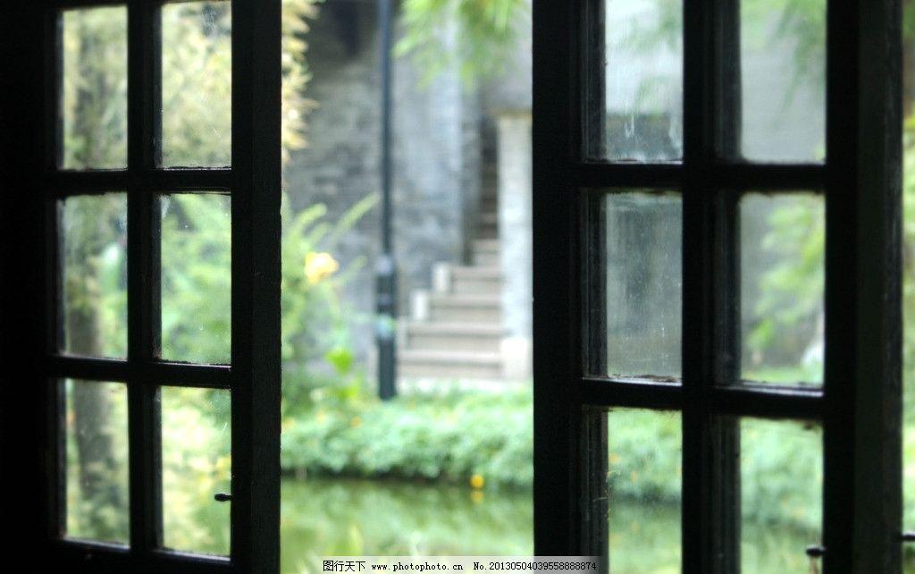 老式木窗 窗 木窗 格子