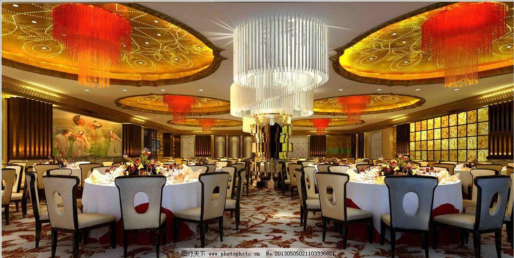 餐厅 工装 酒店 中式 宴会厅