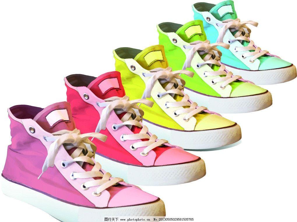 高帮鞋 板鞋 球鞋 鞋 鞋子 鞋带 矢量 运动鞋 休闲鞋 设计手绘素材