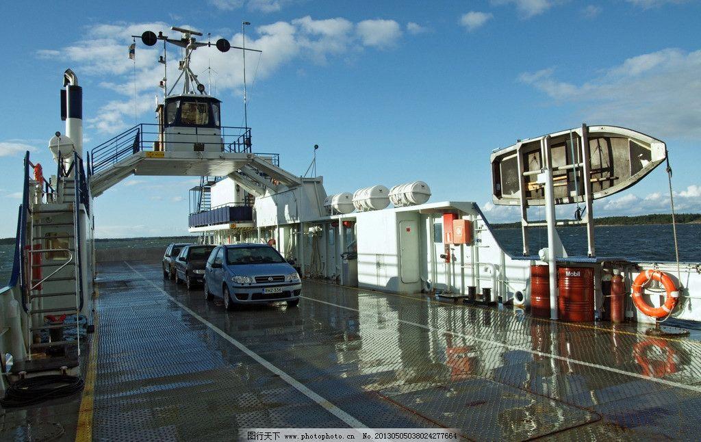 渡船 汽车轮渡 汽渡 摆渡 渡口 运输船 交通运输工具 摄影
