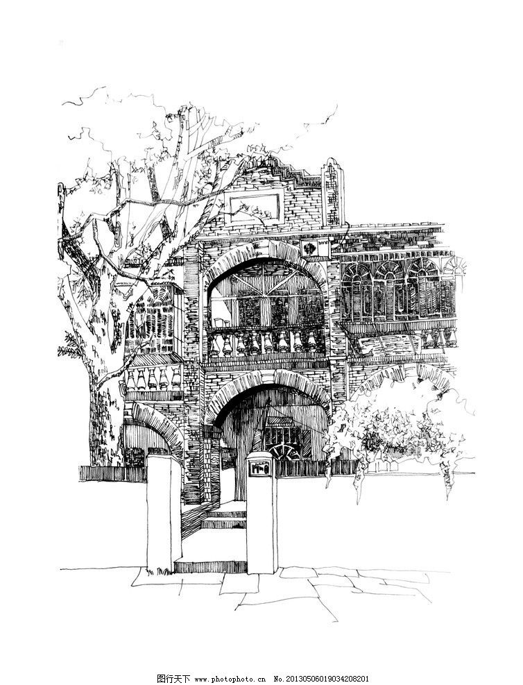 厦门大学写生 写生 风景 厦门大学 艺术 手绘 绘画书法 文化艺术 设计