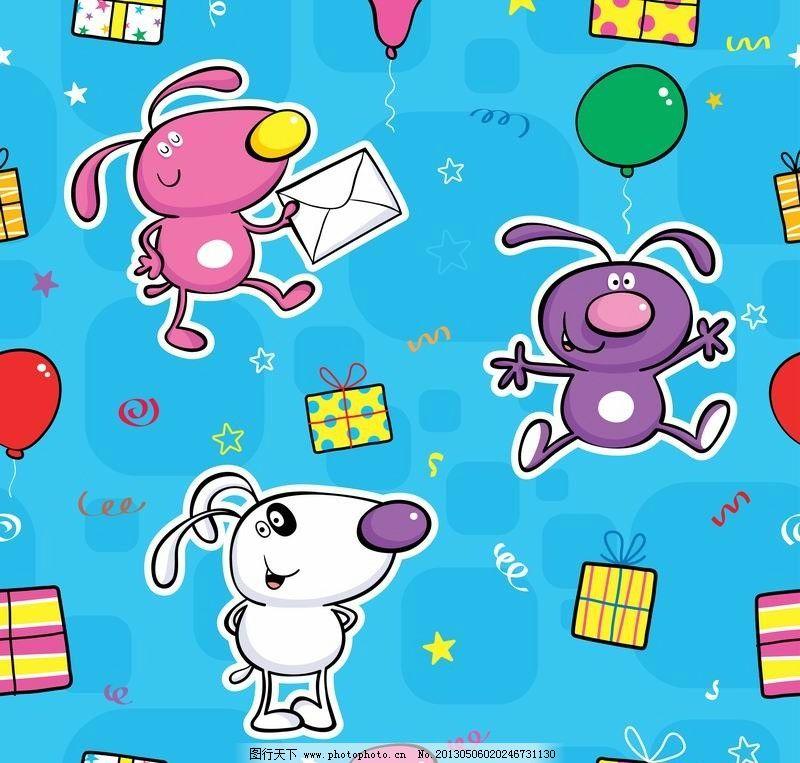 可爱小老鼠节日背景图片