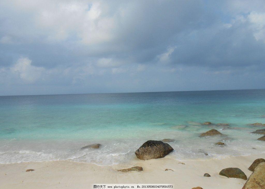 马来西亚浪中岛海边图片