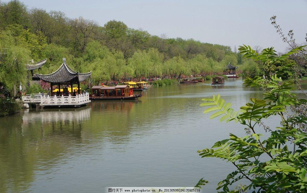扬州瘦西湖风景图片