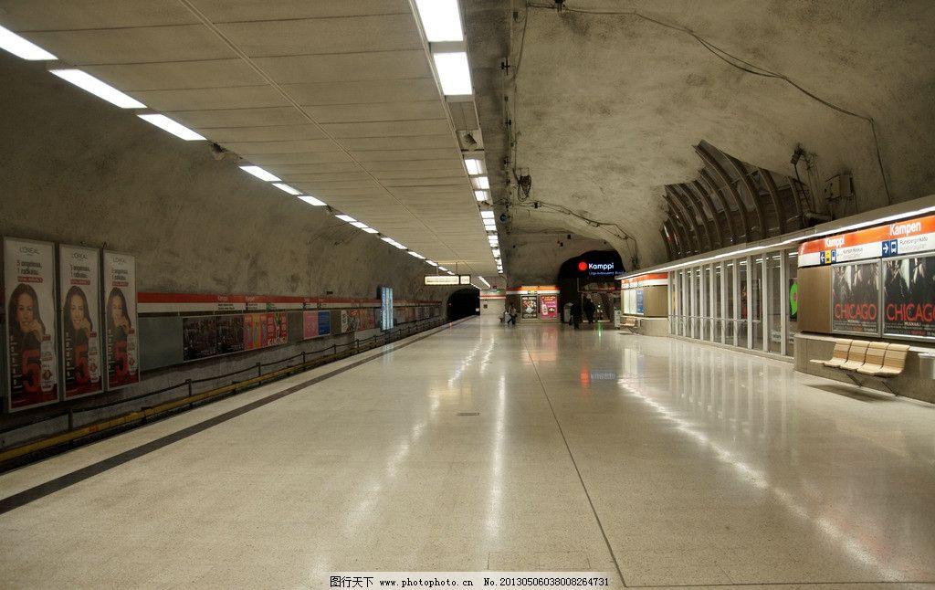 济南地铁站台进出口设计图展示