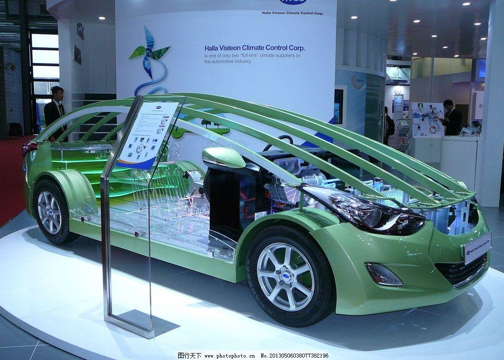 汽车结构图片_交通工具