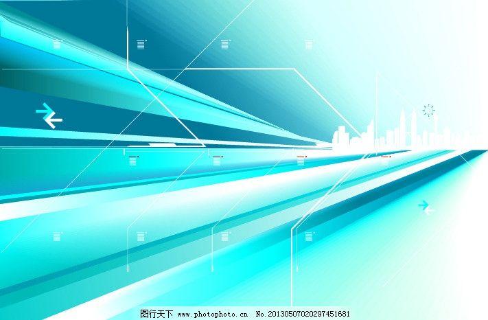 背景 蓝色背景 展板模板 展板 科技背景 线条背景 封皮背景 封皮 动感