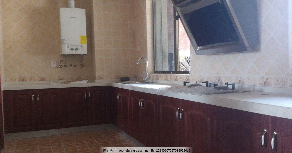 橱柜 简欧 欧式 麦穗拉手 石英石台面 别墅厨房设计 家居生活