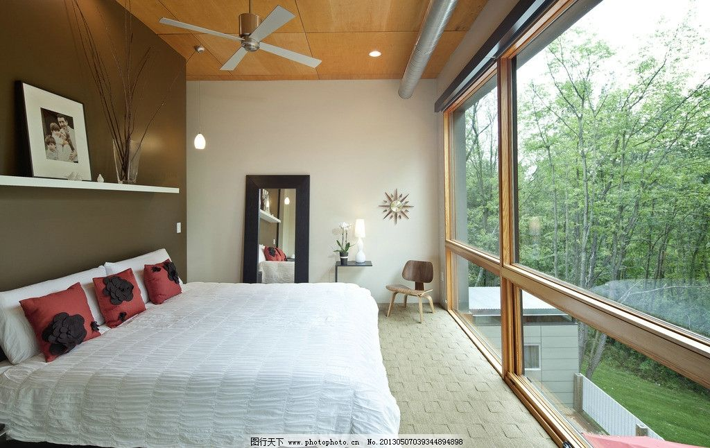 别墅室内实景图 欧式 图片