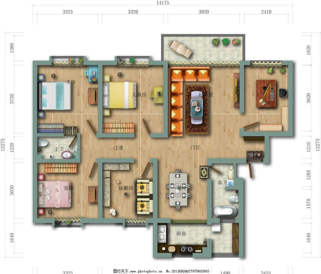 家装设计 装修 装潢 平面设计 家装平面图 室内设计 建筑家居 矢量 ai