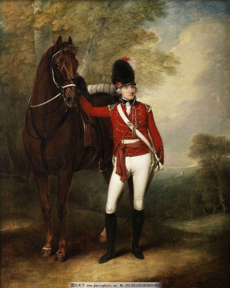 古典油画人物 高清欧洲古典油画 写实 骑士 骑马 绘画书法 文化艺术