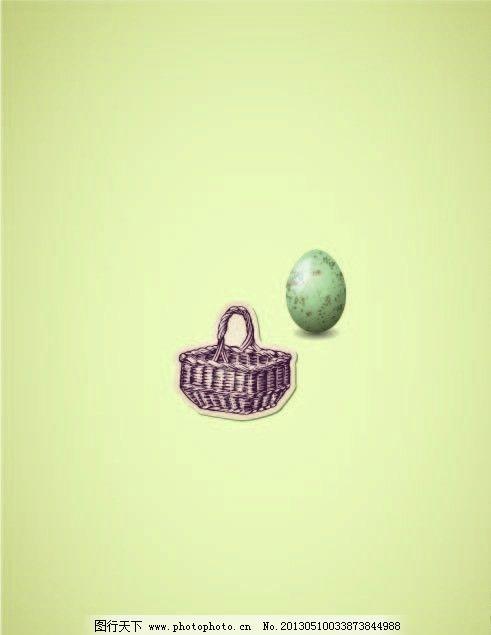 手绘鸡蛋图片