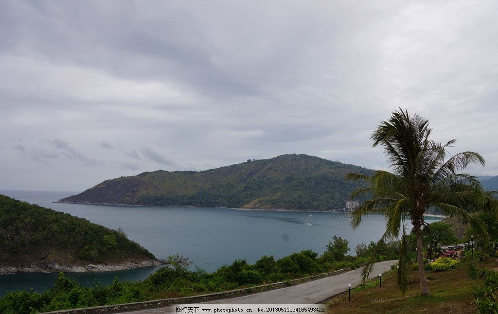 泰国普吉岛自然风光 泰国 普吉岛 风光 旅游 自然 路 大海 岛 自然