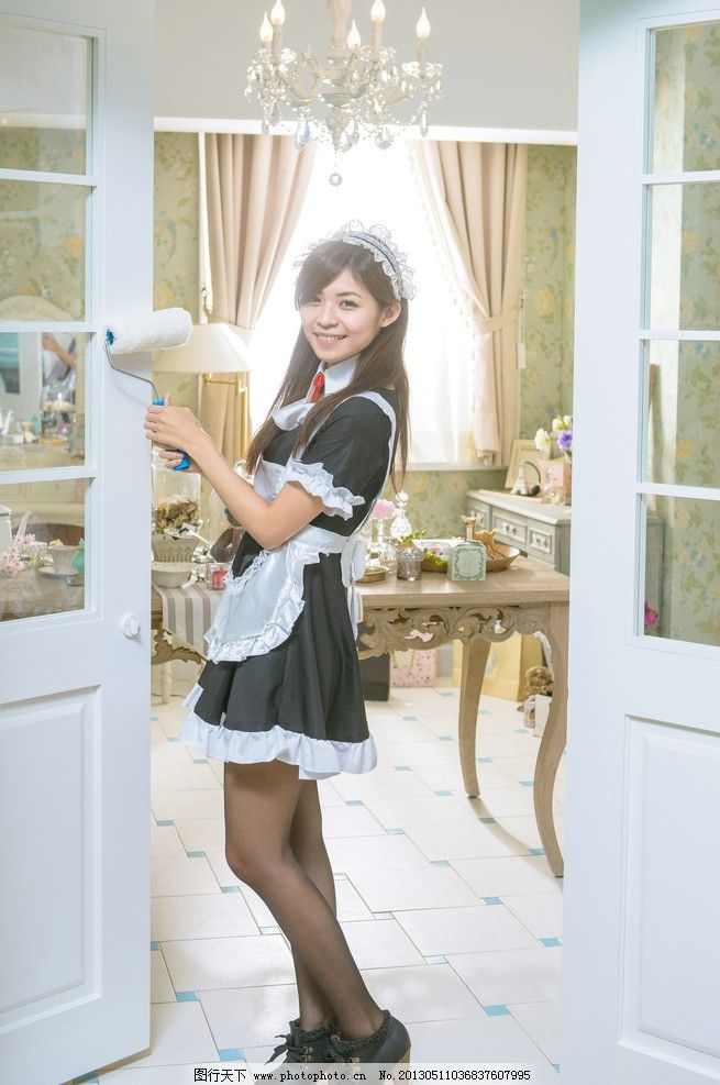 可爱女仆装 气质美女 清纯美女