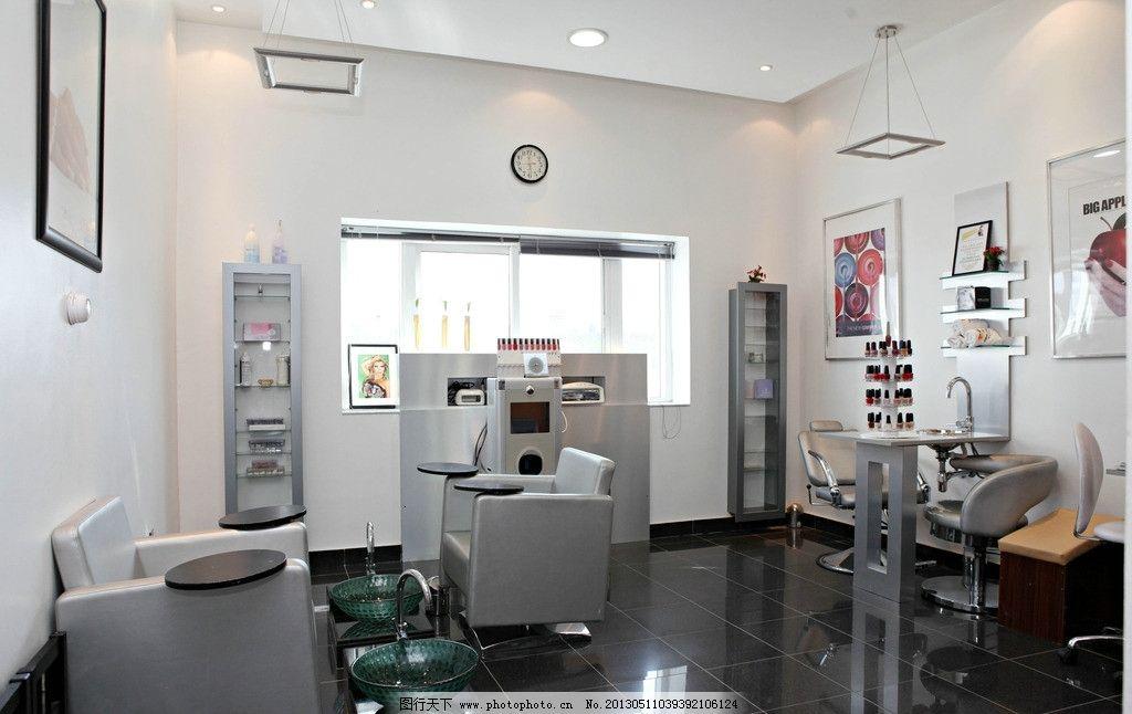美容院 化妆品 沙发 室内装修设计 装潢 装饰 摄影 家具 家居