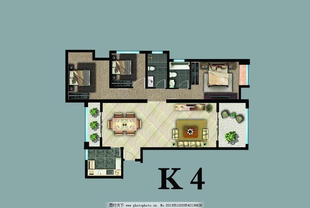精装户型图 户型图 精装图 装修户型图 房屋平面图 跃层 装修装饰 房