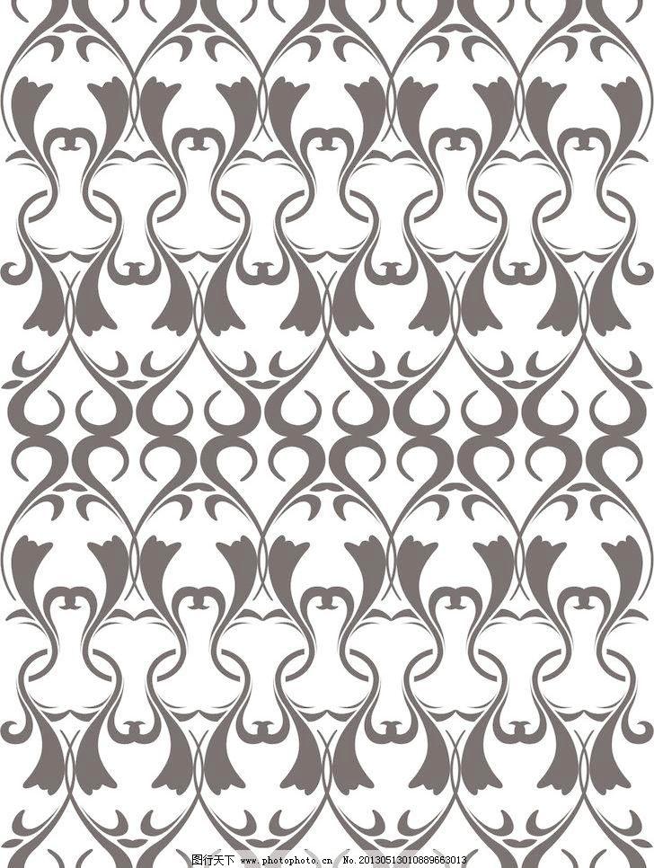 装饰 简欧 欧式 时尚 简洁 2013穿越新时空 底纹背景 底纹边框 矢量