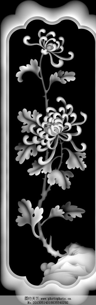 浮雕 雕花 灰度图 黑白 精雕图 bmp 雕刻 实木浮雕 花边花纹 底纹边框