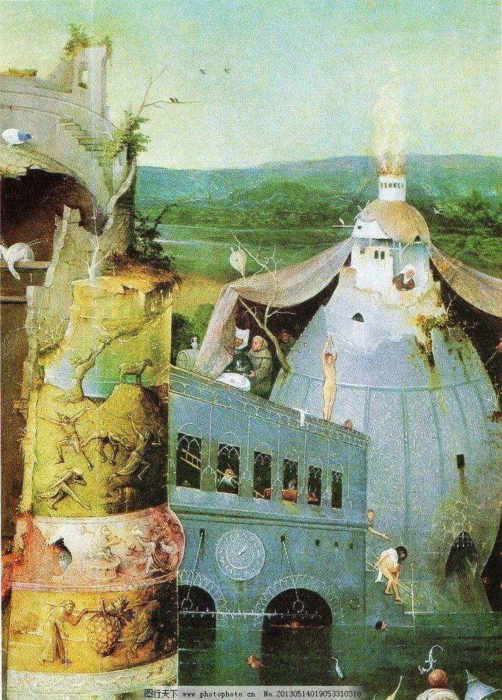 欧洲乡村油画 油画 艺术 绘画 美术绘画 欧洲乡村 欧洲油画 绘画书法图片