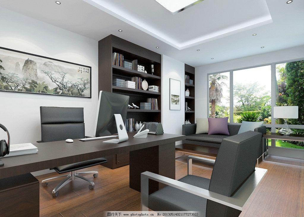 经理办公室        桌椅 室内设计 工装 3d作品 3d设计 设计 72dpi