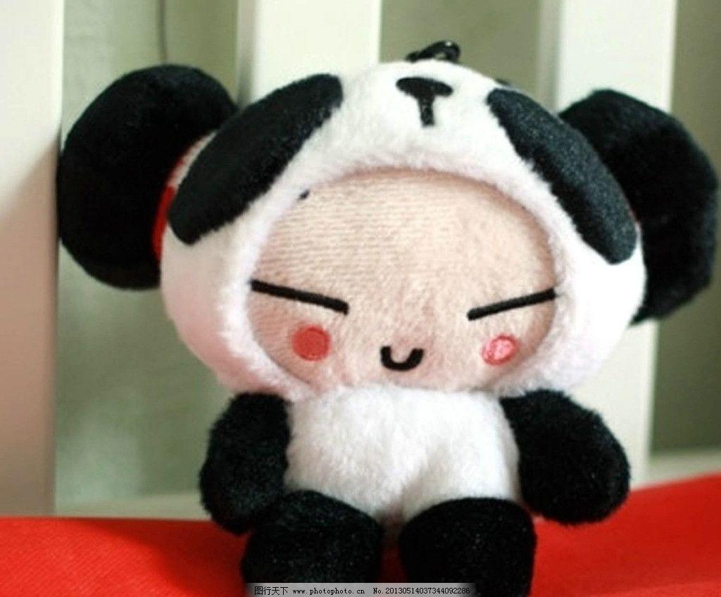 熊猫 中国娃 害羞 黑白配 可爱 撒娇 家居生活 摄影