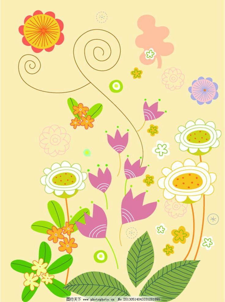 花朵花瓣 美丽鲜花 百花盛开 花纹 花纹图案 花朵图案 背景花纹 背景