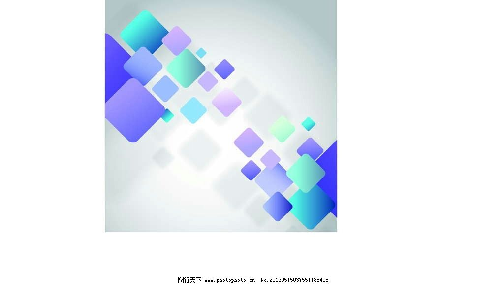 正方形背景 背景图案 抽象图形 几何图形 抽象 手绘 漫画 彩绘 水彩画