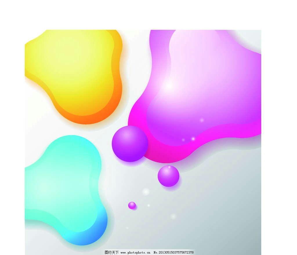 水滴背景 水滴 雨滴 背景图案 抽象图形 立体 几何图形 抽象 手绘