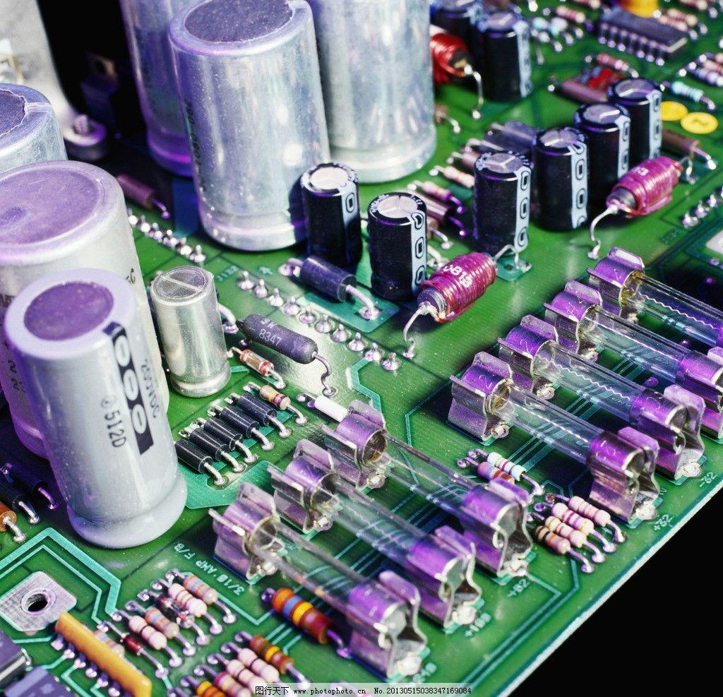 电子 电路板 电板 电池 集成电路 科学研究 现代科技 摄影 300dpi jpg