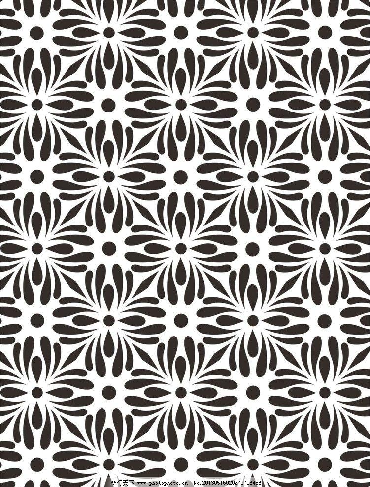 设计图库 底纹边框 背景底纹  时尚潮流图案 花朵 花蕊 花开富贵 花形