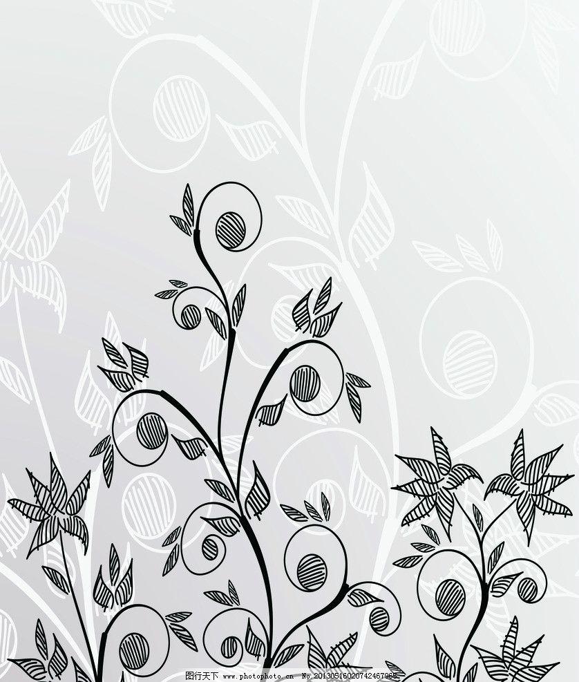 花纹背景 手绘花 花 韩国 花纹 手绘 暗花 叶子 时尚 移门 帝歌3 移门