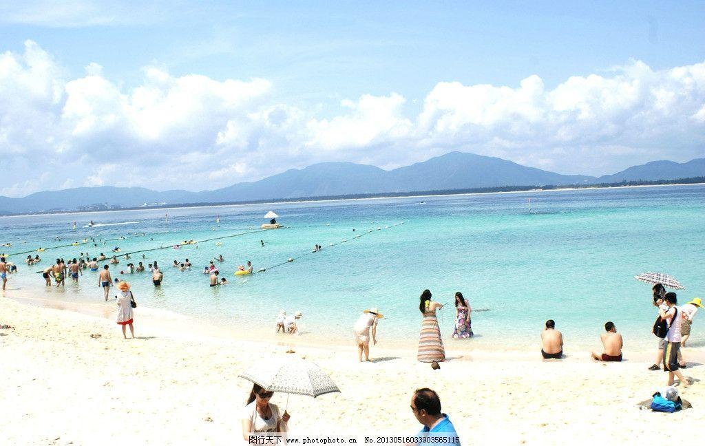 海边人 三亚海边 沙滩大海 太阳浴 看海 蜈支洲岛 国内旅游 旅游摄影