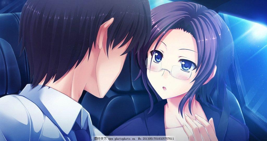 爱情动漫情侣图片_动漫人物_动
