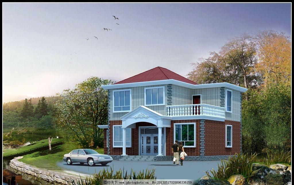 二层别墅建施图dwg图片