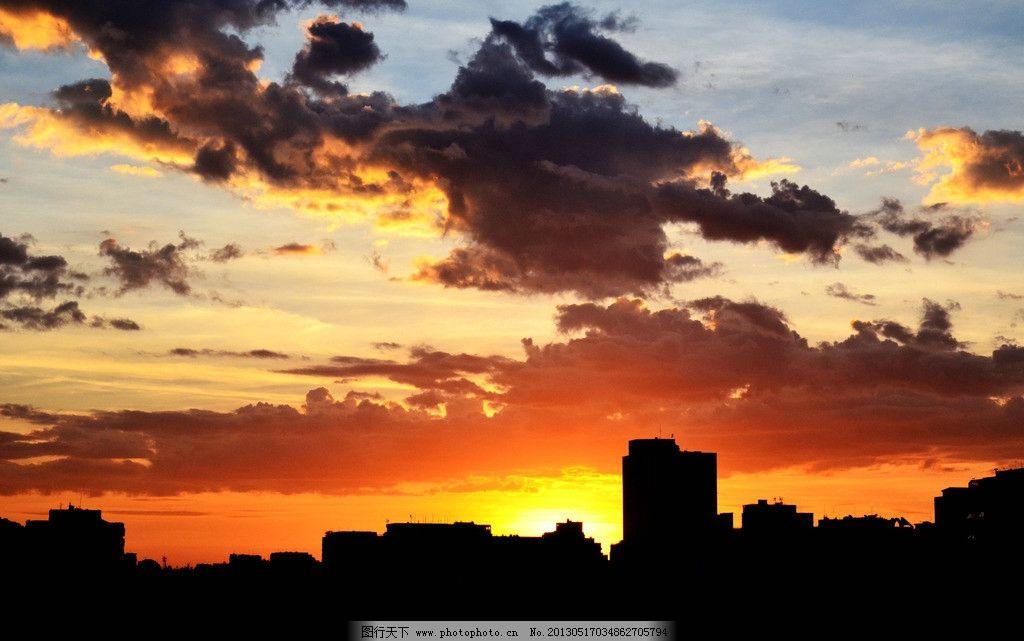 城市 阳光 大海 云彩 日出 日落 朝阳 夕阳 风景 自然 摄影