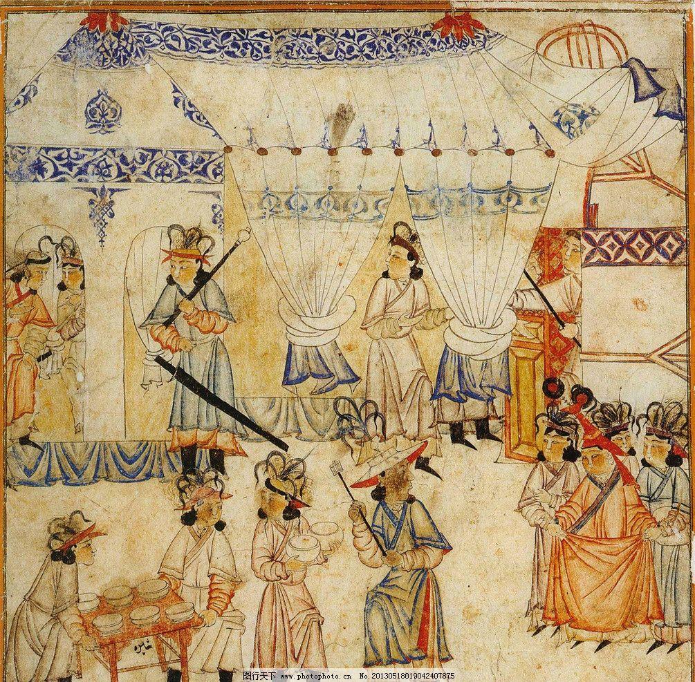蒙古国绘画 蒙古国 蒙古 绘画 美术 壁画 绘画书法 文化艺术 设计 72
