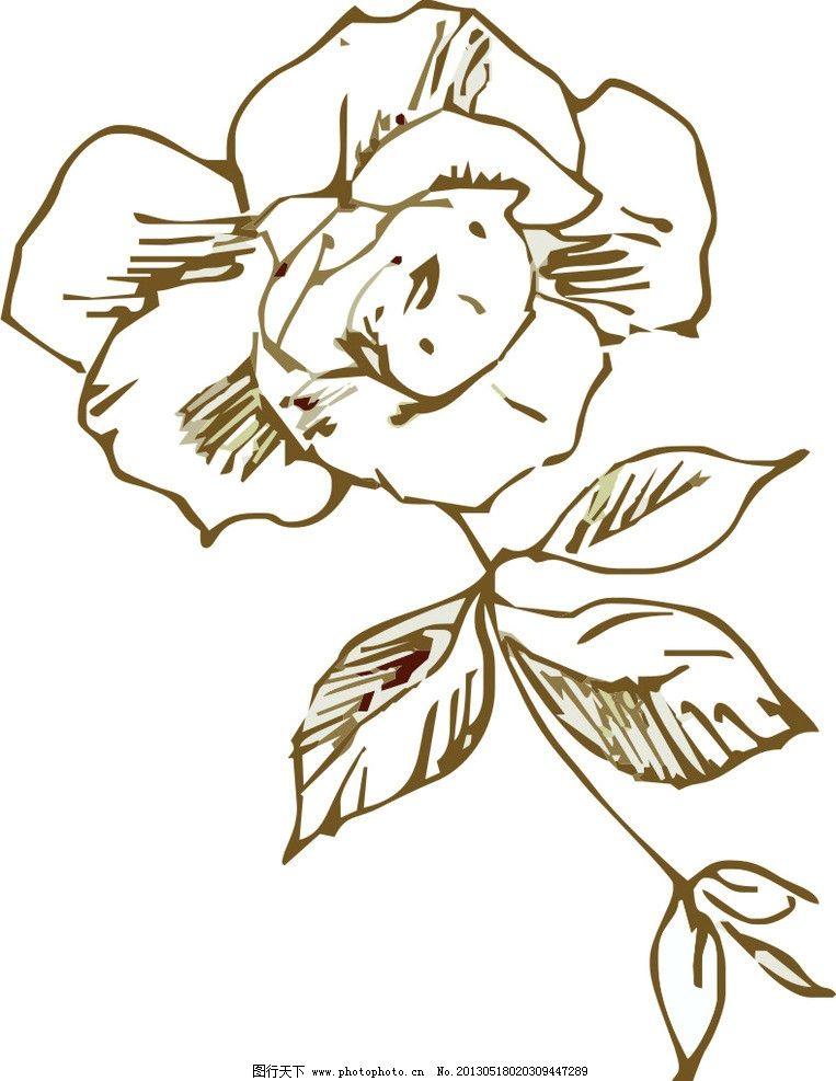 花纹 玫瑰花 花边 相框花边 装饰花纹 欧式花纹 韩式花纹 日式花纹