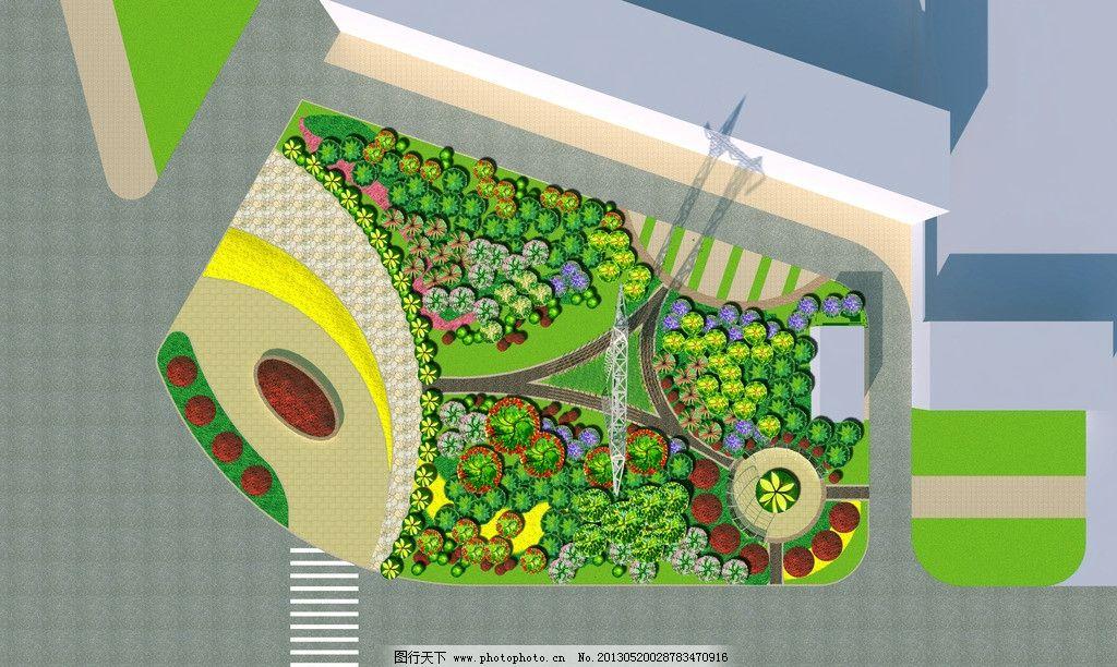 公园平面图图片_园林设计_环境设计_图行天下图库